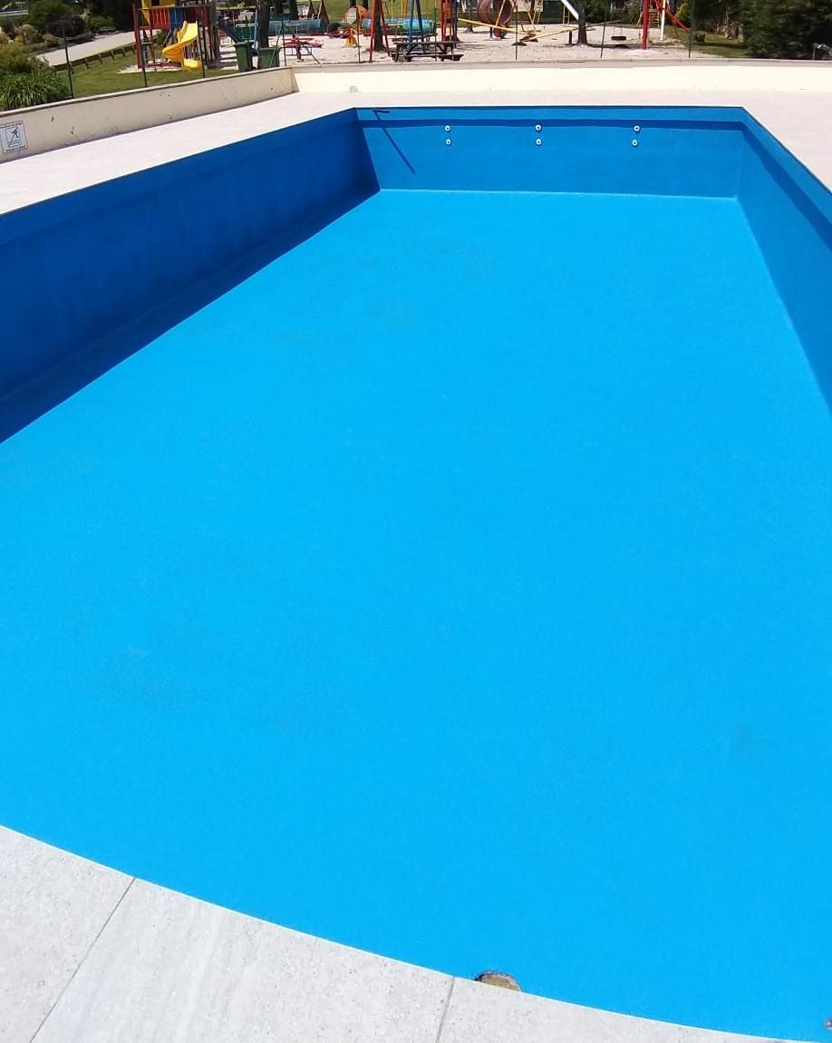 Zwembadrenovatie Eurocamping Manhay